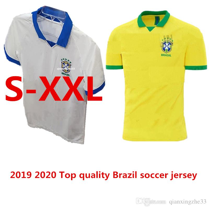 Best World Cup Kits 2020 2019 Top Quality 2019 2020 World Cup Brasil Soccer Jerseys 19 20