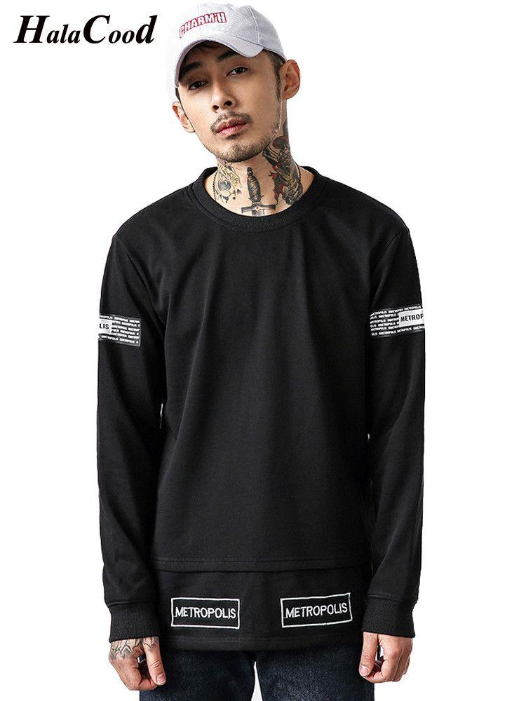 a36319bb3f 2019 HALACOOD Fashion Brand Plus Size Hoodies Men Spring Autumn Male Casual  Hoodies Sweatshirt Sportswear Male Hooded Tops New Styles From Zhaolinshe,  ...