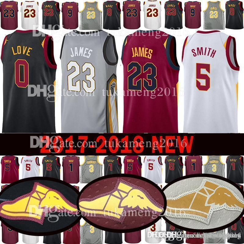 e386061c4af 2019 2018 New Cleveland LeBron 23 James Jersey Cavaliers Kevin 0 Love JR 5  Smith Jerseys 2 Collin 2 Sexton From Tukameng2016, $33.5 | DHgate.Com