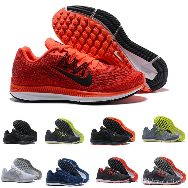 classic fit bdc9c b27ee Compre Nike Air Zoom Vomero 12 Zapatillas Ligeras ZOOM WINFLO V5 Para  Hombre Pegasus 5 Zoom Zapatillas Vomero Classic Para Mujer Zapatillas  Deportivas MINT ...