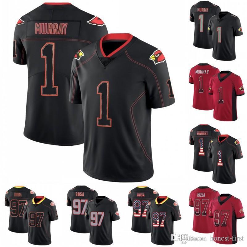 2019 Arizona Jerseys 1 Kyler Murray Cardinals San Francisco 97 Nick  free shipping