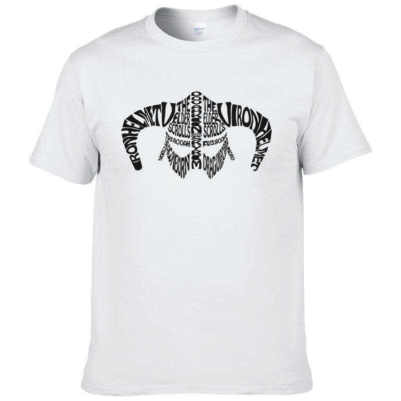 bc8cd958 Creative Design The Elder Scrolls Mens T Shirt Game Skyrim 3d Printed T  Shirts Casual Anime Clothing Fashion Shirt #195 Funny Cool Shirts Be Awesome  T Shirt ...