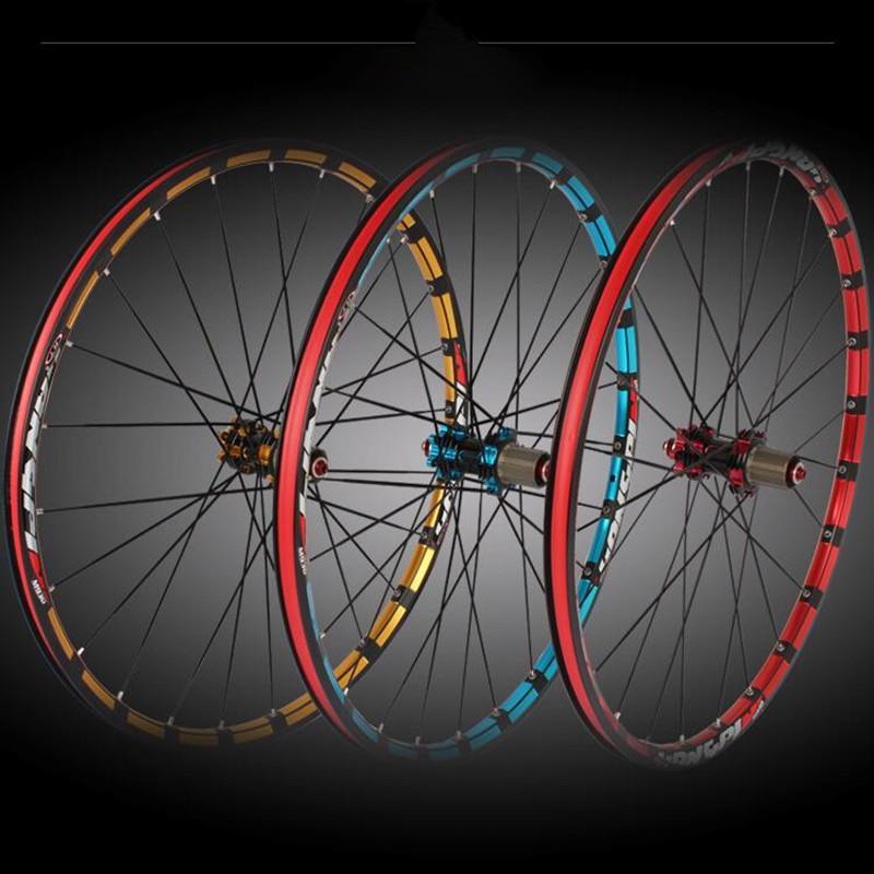9ba6bbf9df8 MEROCA Mountain Bike Bicycle Milling Trilateral XC6 XC9 Front 2 Rear 5  Bearing Japan Hub Super Smooth Wheel Wheelset Bikes On Wheels Bikes With  Training ...