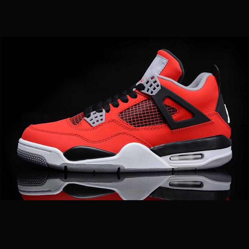 1f111798ec8df0 2019 Top Quality Retro Mens Fashion Designer Outdoor Shoes Sneakers 4s 6s  Chaussures 4 6 White Black Red Basketball For Cheap From Leonardjersey