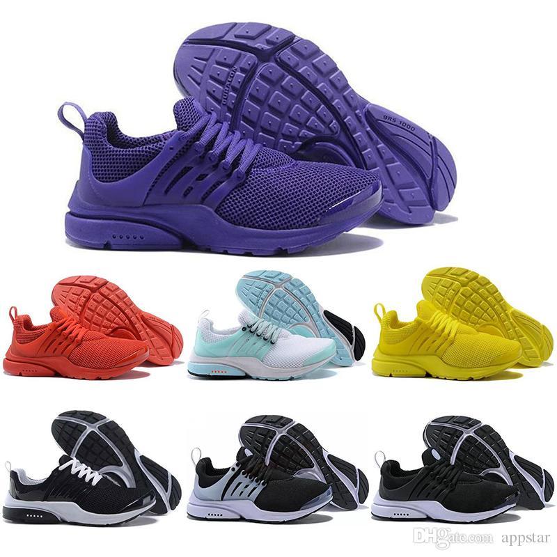 Neue schwarz rot presto grün Mens Mode Höhe Casual Sneakers Schuhe Brand lila Kettenreaktion Schuh Luxury orange zunehmender nike Womens Sohle UpzVqSM