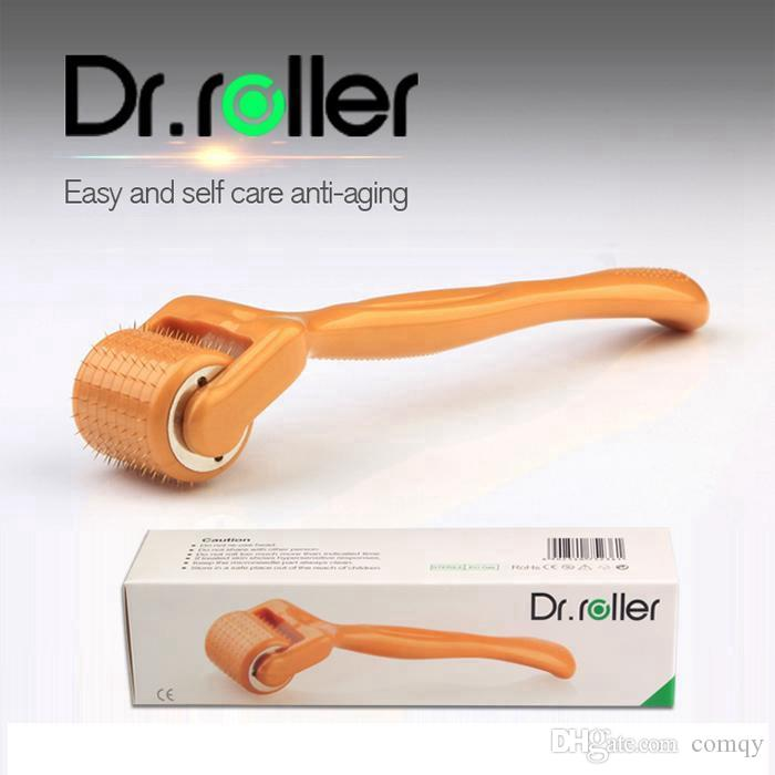Korean Skin Care Products Dr.roller 192 titanium Micro Needle Derma Roller Beauty Care Face Wrinkle Remover