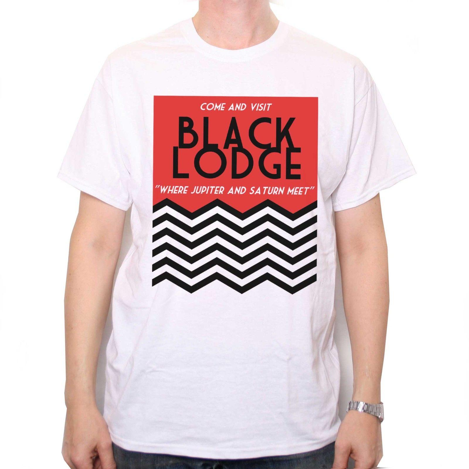 6c799ecf INSPIRED BY TWIN PEAKS T SHIRT BLACK LODGE POSTER CULT TV T SHIRT 100%  Cotton Short Sleeve, O Neck T Shirt,Top Tee Basic, Cool T Shirts For Boys  Online Cool ...