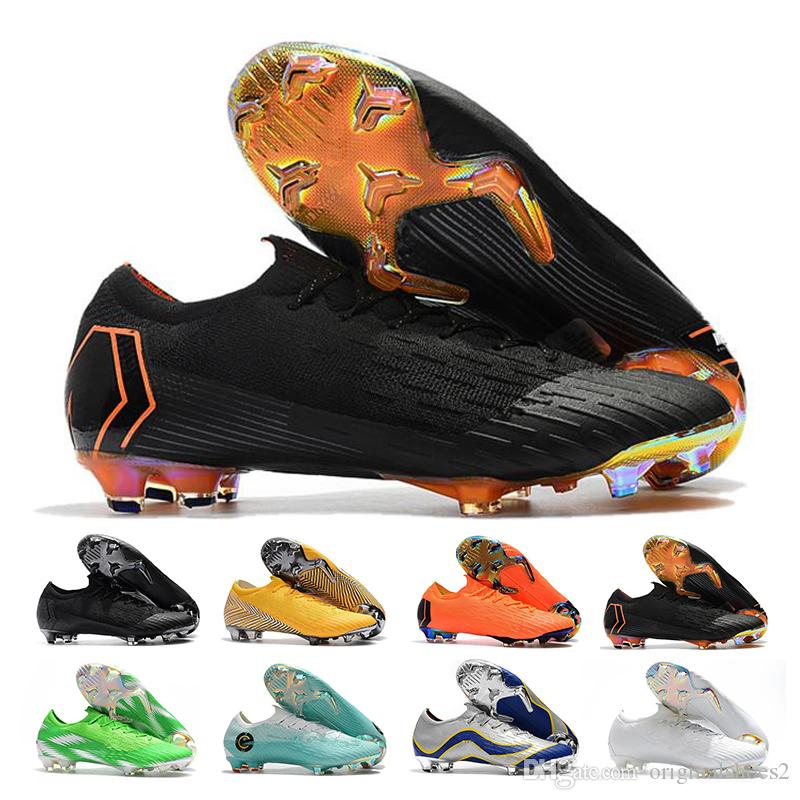2019 Mercurial Superfly VII Mens Low Ankle Soccer Shoes Elite FG Football  Boots CR7 Superfly VI 360 Neymar Outdoor Soccer Cleats From Originalshoes2 8fb9b729114