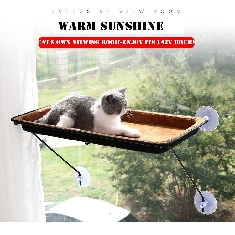 Grosshandel Pet Sucker Hangen Katze Hangematte Balkon Pet Nest