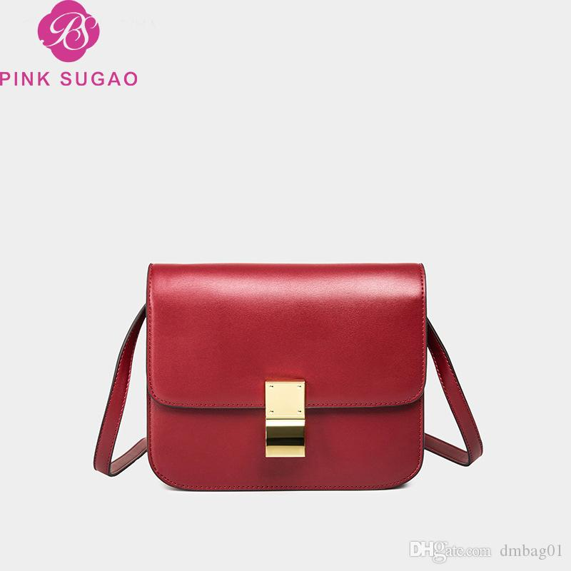 fbf6bc92bb084 Pink Sugao Designer Luxury Handbags Purses Women Shoulder Bags Messenger Bag  Crossbody Bag Flap Mini Plain Bags 2019 New Fashion Brand Bag Name Brand  Purses ...