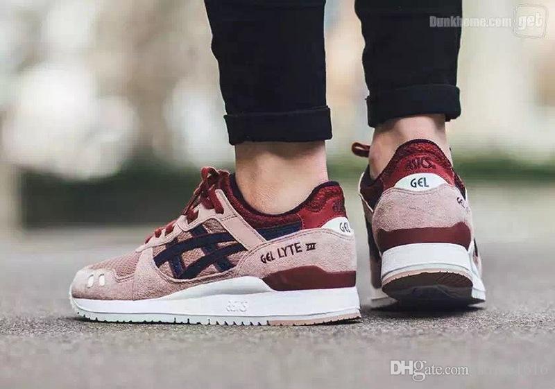 Whosale 2016 New ASICS GEL-Lyte III Men Women Running Shoes High Quality  Cheap Training Lightweight For Sale Online Walking Basketball Shoes 63d1387e5