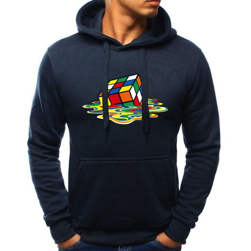 3d Printnew Arrivals Men/women 3d Hoodies Print Rubik Cube Thin 3d Sweatshirts Fashion Cool Hooded Hoodies Hoody Tracksuits Tops Men's Clothing