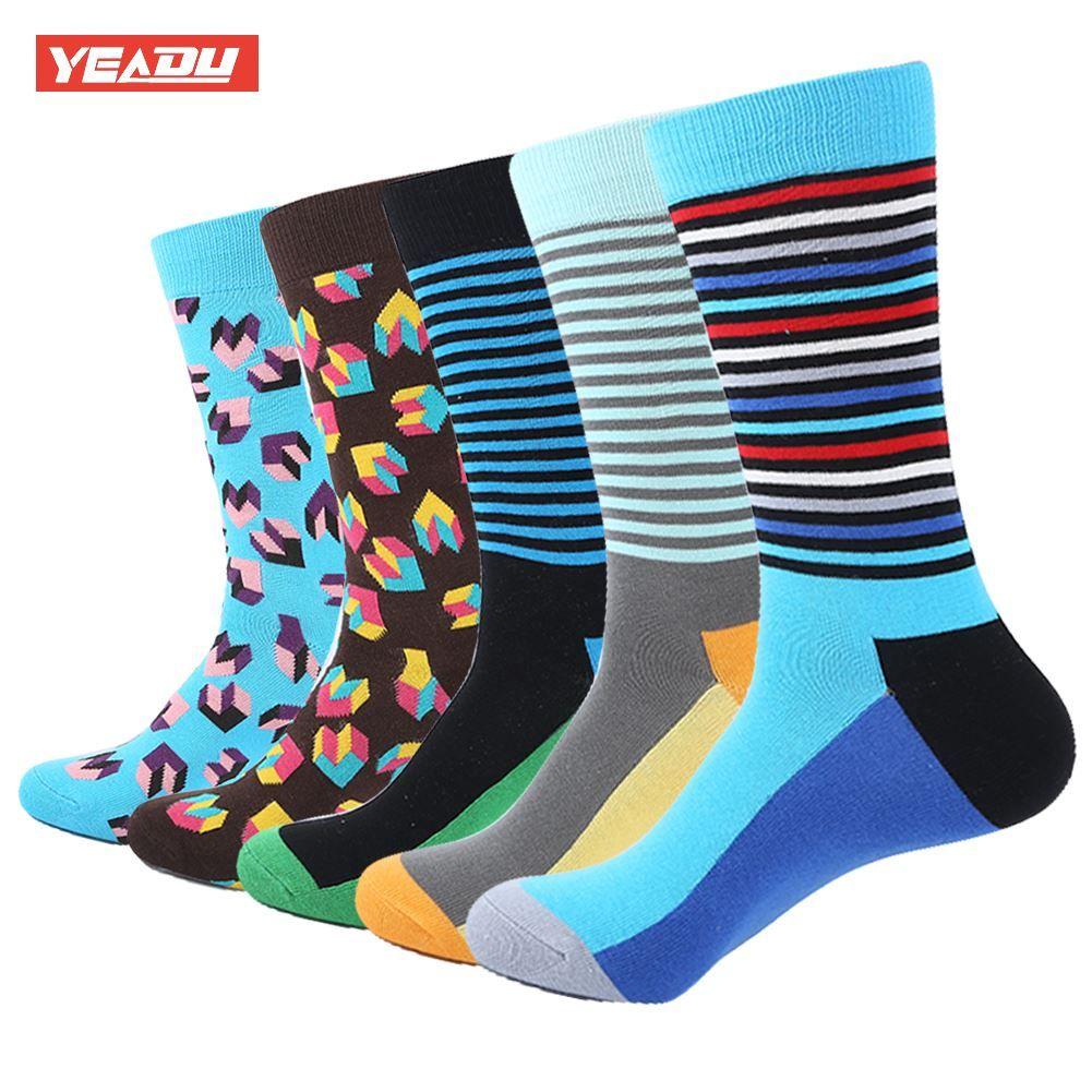 Clever 5pair Men Socks Cotton Casual Breathable 5 Colors Ankle Socks Short Mesh Short Boat Socks Men Cute Kawaii Harajuku Socks Happy Underwear & Sleepwears