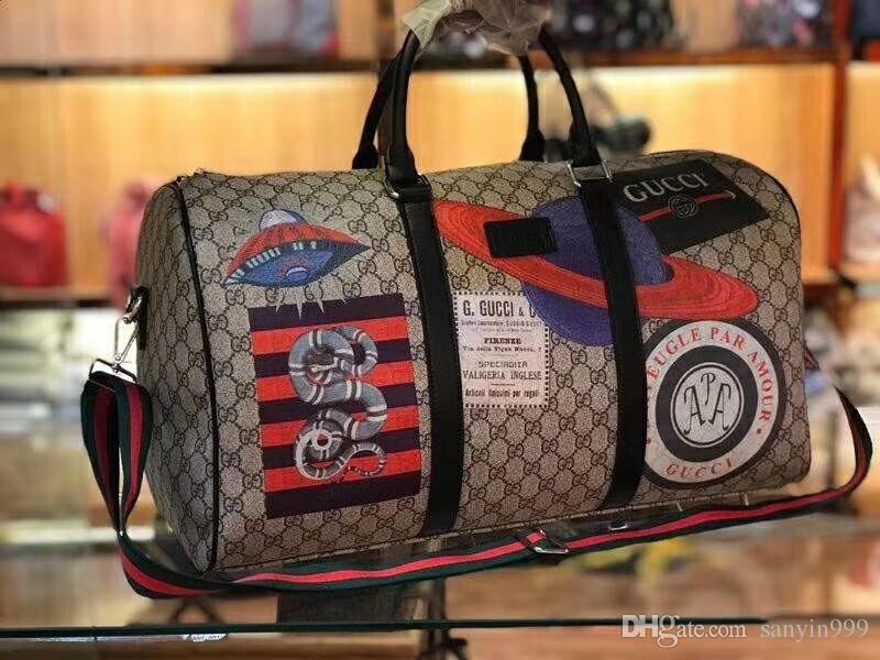 51c5917127e7 Women Travel Bags 2018 Fashion Pu Leather Large Capacity Waterproof ...
