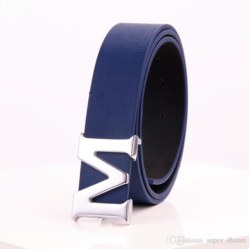 Compre Marca De Moda Cinturón De Cuero Genuino De Los Hombres Diseñador De  Lujo De Alta Calidad H Hebilla Suave Cinturones Para Hombre Para Las Mujeres  ... 514e0119927c