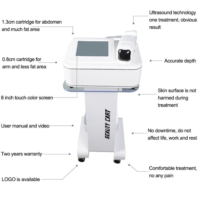 2020 Remoção O mais recente portátil de peso LipoSonix máquina de perda do emagrecimento rápido gordura mais eficaz equipamento da beleza lipo HIFU
