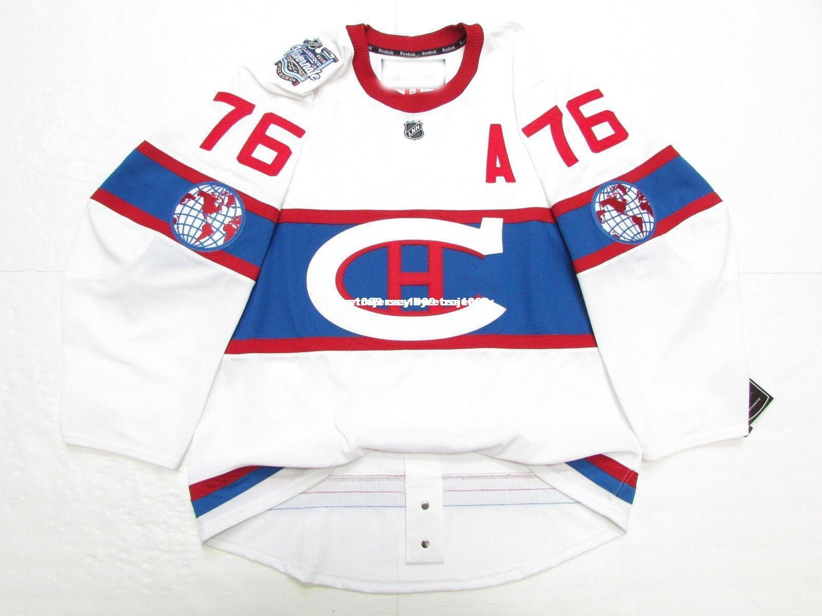 1432080a1 2019 Cheap Custom SUBBAN MONTREAL CANADIENS 2016 WINTER CLASSIC EDGE 2.0  7287 JERSEY Stitch Add Any Number Any Name Mens Hockey Jersey GOALIE CUT  From ...