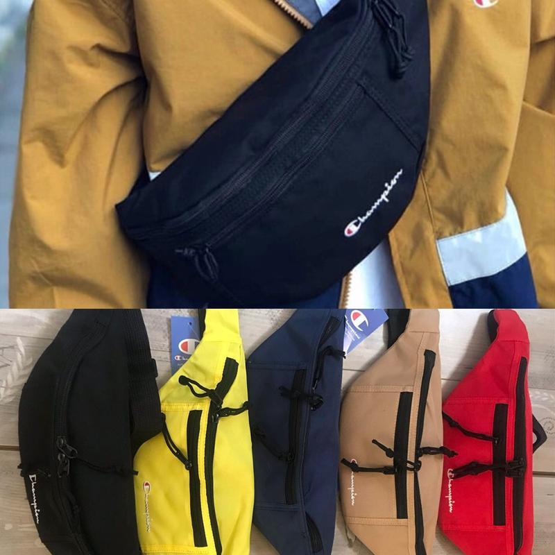 9d76f2e9f Champions Fanny Pack Letters Oxford Fabric Zipper Waist Bags Unisex Belt  Chest Bag Bumbag Phone Pouch Cross Body Shopping Bag C3278 Designer  Backpack ...