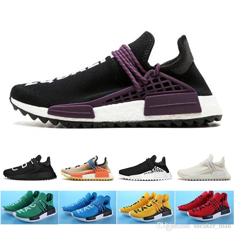 promo code 07d65 7dc48 Cheap Wholesale Retail Equality Human Race Pharrell Williams X NMD Running  Shoes mens Shoes women designer trainers sneakers size 36-47