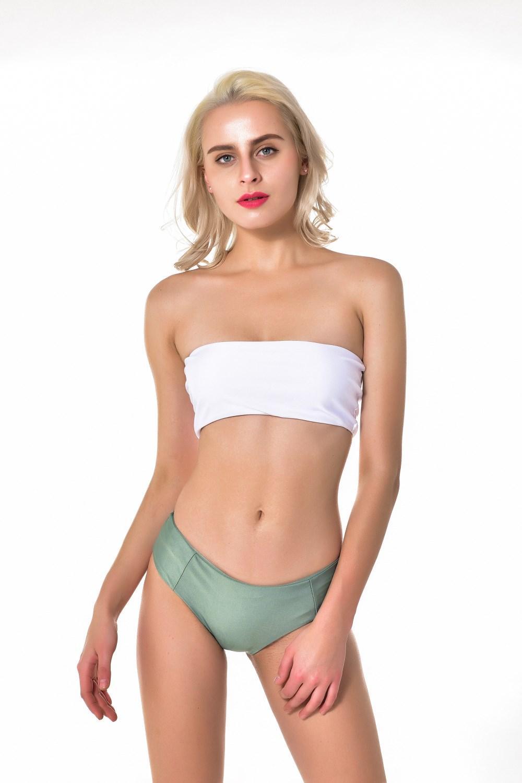 Strapless Bikini Set Bandeau Thong Women High Cut Swimsuit Padded Swimwear  Bathing Suit Biquni High Cut Swimsuit UK 2019 From Swimdress 920e86dcd