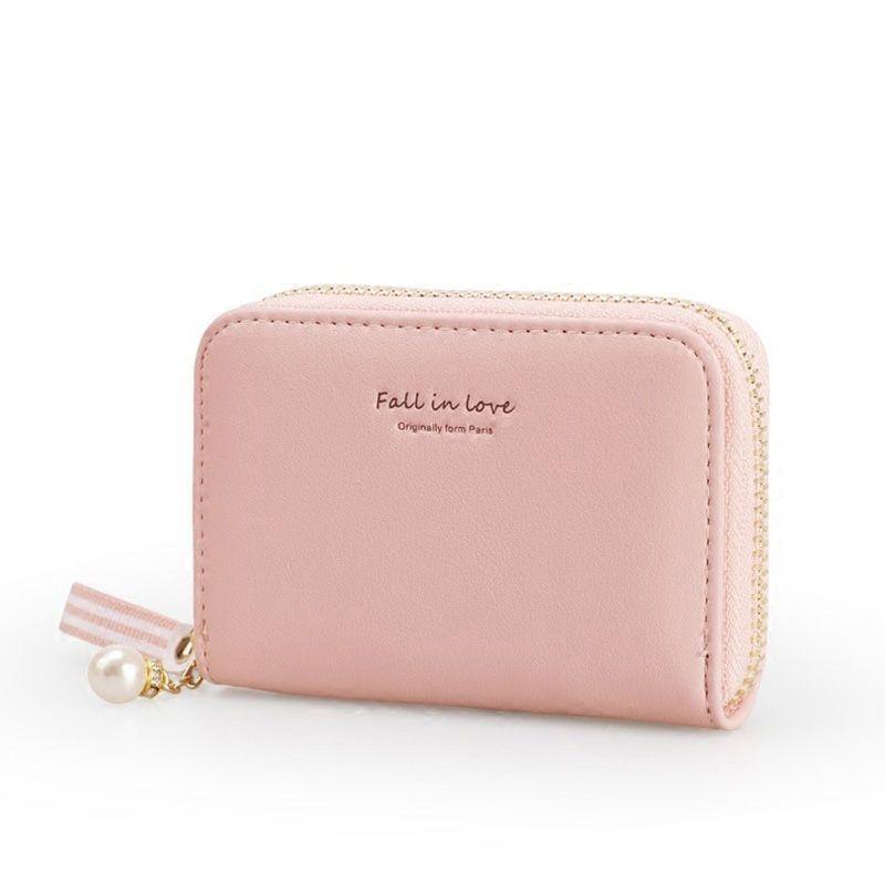 on sale e0a89 e908b 10 Card Slots Women Card Holders Fashion Pu Leather Brand Female Wallet  Fresh Card Holder Organizer