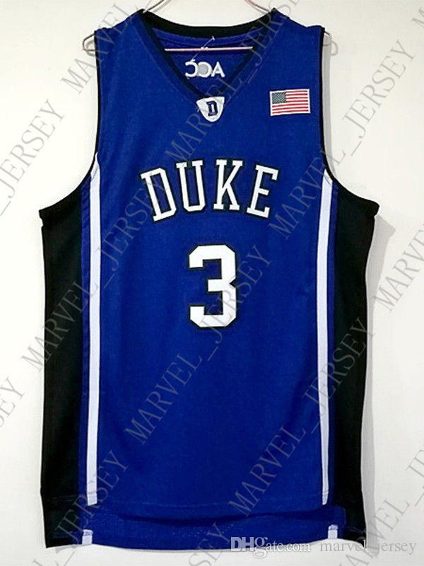 low priced ce72c cabdf Cheap wholesale Grayson Allen Jersey 3 Allen duke Devils Sewn Customize any  name number MEN WOMEN YOUTH basketball jersey