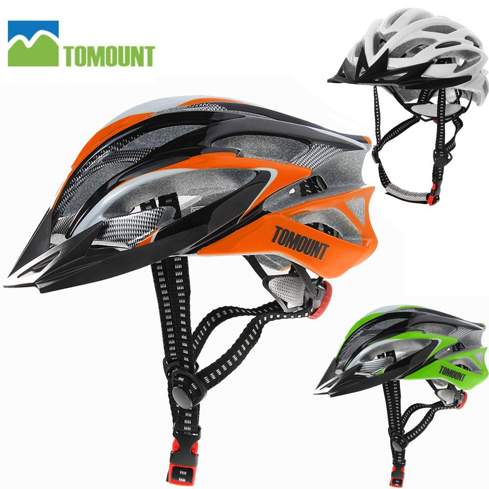7826dd2d2fe Tomount Bicycle Helmets Cycling Ultralight Mtb Bike Racing Helmets ...
