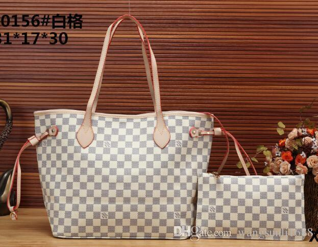 2ca1a6b959 Original 2018 Free Ship Never Full Cowhide Leather Handbags Color Leather  Shopping Bag Never Single Shoulder Bag 01 Fashion Bags Leather Bags For  Women From ...