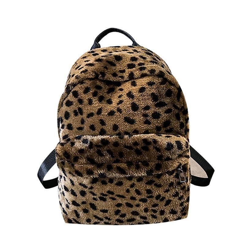 bf2e19584622 Купить Оптом Leopard Print Vintage Рюкзак Сумка Студент Колледжа Школьная  Книга Рюкзаки Сумки Для Женщин Путешествия Женский Рюкзак Рюкзак Рюкзак ...