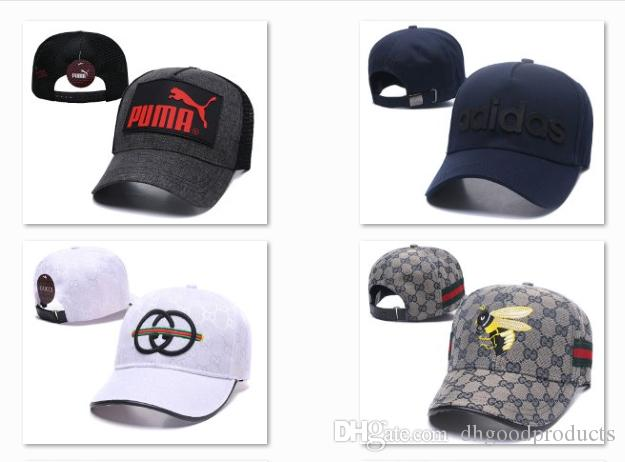 a8a0d095f Designer Headwear Fashion Baseball Hats New Golf all Cap Trucker Cap Luxury  Mens Ball Caps Outdoor Starter Snapback DF10G19