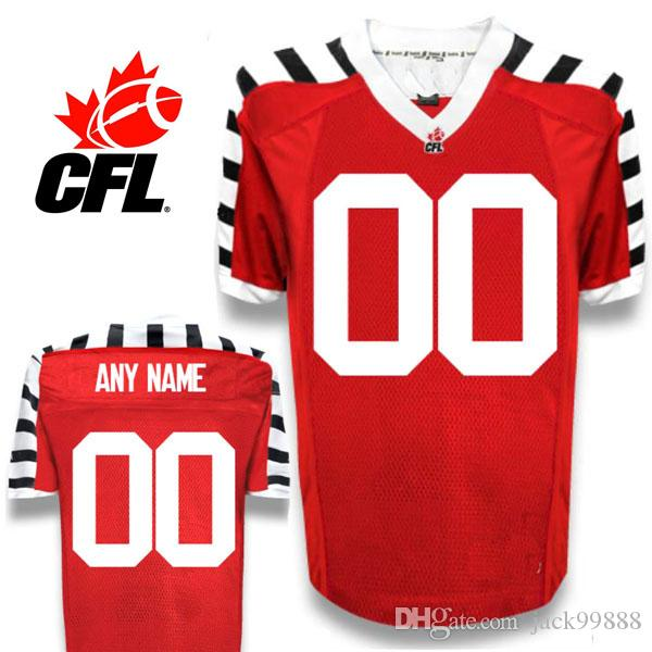 f7aa8c96c62 2019 CFL Custom Hamilton Tiger Cats Premier Alternate 3nd Red White, Black Football  Jersey From Jack99888, $19.35 | DHgate.Com