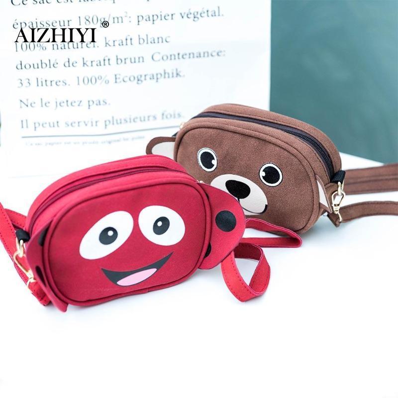 Luggage & Bags New Fashion Zipper Open Cartoon Monkey Kids Hot Selling Package Pu Material Cute Girl Single Shoulder Slant Bag In 2019 Crossbody Bags