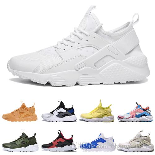c051105d34261 2019 2019 New Huarache 1.0 4.0 Running Shoes Men Women Top Quality ...