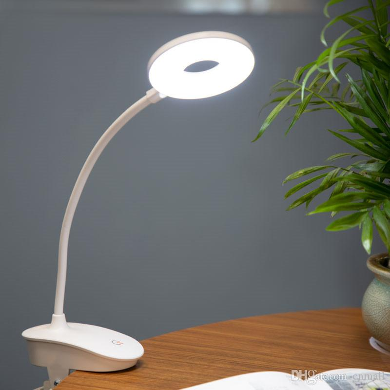 2019 Led Touch On Off Switch 3 Modes Clip Desk Lamp 7000k Eye