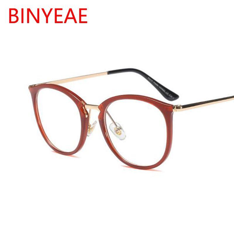47944372a8 Compre Hermosos Marcos Redondos De Gafas De Color Redondo Para Mujer ...