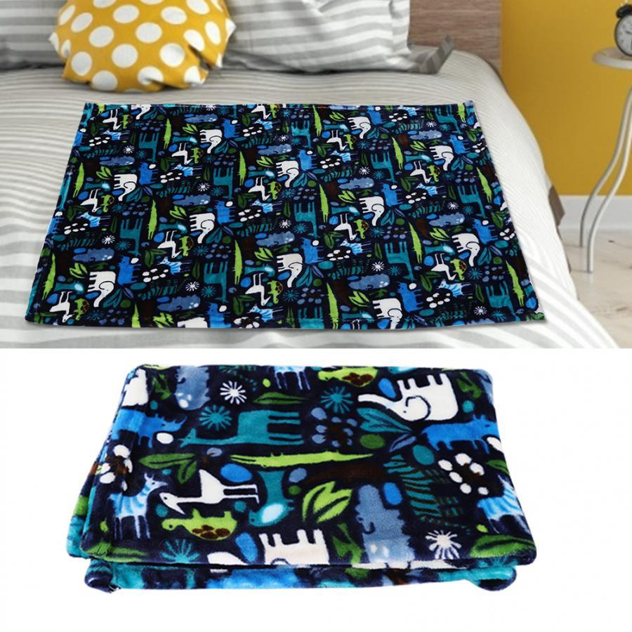 Summer Air Conditioning Blanket Flannel Blanket Lightweight Thin Quilt Single / Double for Home Nap