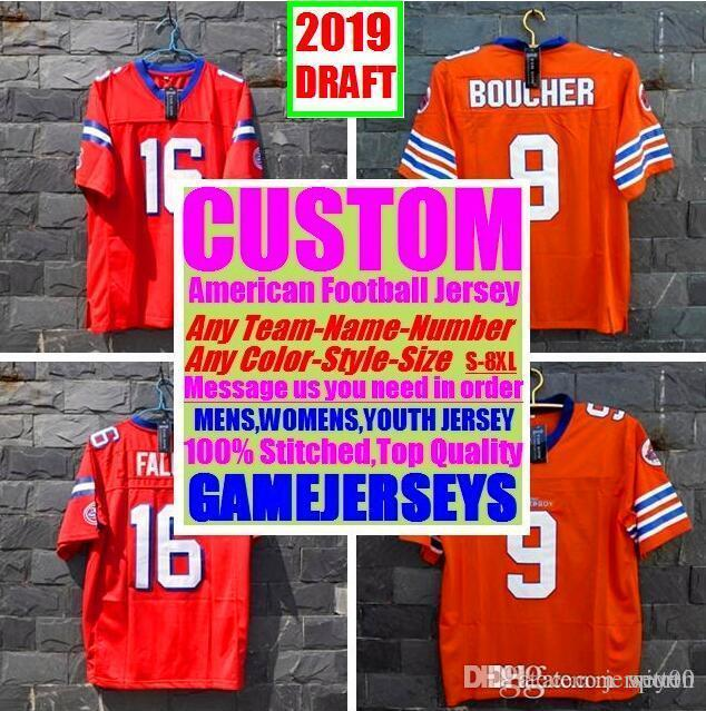 All Stitched Custom american football jerseys Arizona Atlanta college authentic cheap baseball basketball hockey jersey 4xl 5xl 7xl york