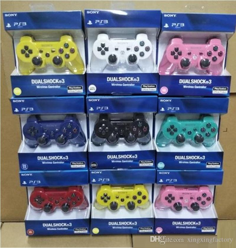 2019 NEW Controllers Wireless Controller Game Controllers Double Shock for PS3 portable video game palyer Game Console