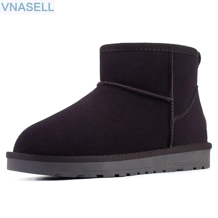 088fde8024a Outdoor women's snow boots 2018 new bread shoes classic style with warm  velvet short boots winter waterproof short tube