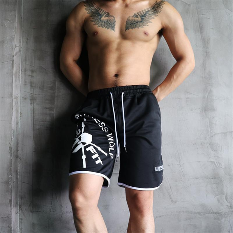 04f209fe2d0c84 2019 2019 Casual Summer Men'S Shorts Gym Sport Running Male Fitness  Bodybuilding Workout Man Crossfit Jogger Short Pants M 5xl C190420 From  Shen07, ...