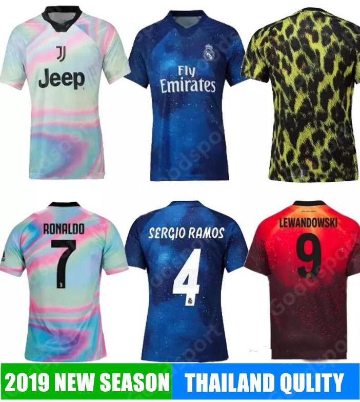new concept 751b3 c1c86 2019 Soccer Training Jerseys shirts Ronaldo MODRIC SERGIO RAMOS JAMES POGBA  ALEXS ROBBEN MULLER LEWANDOWSKI LUKAKU Real Madrid