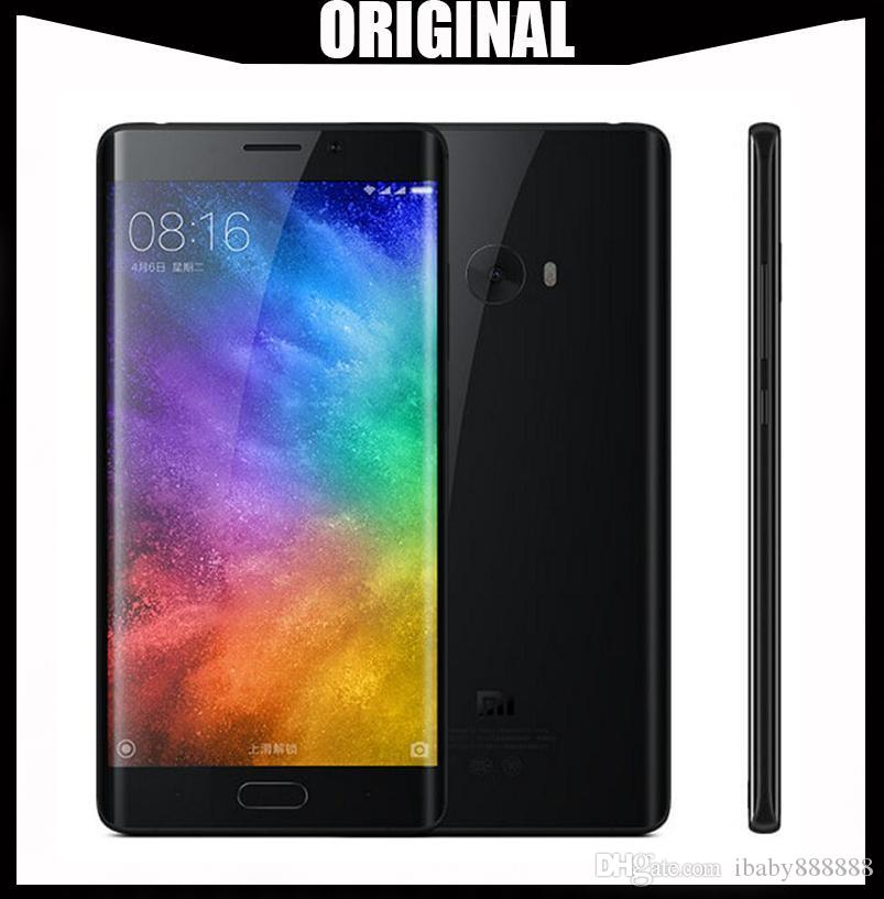 Global Version Original Xiaomi Mi Note 2 64-Bit Quad Core 4G LTE Touch ID  22MP Camera RAM 6GB ROM 128GB 5 7 inch Curved Screen 1080P FHD