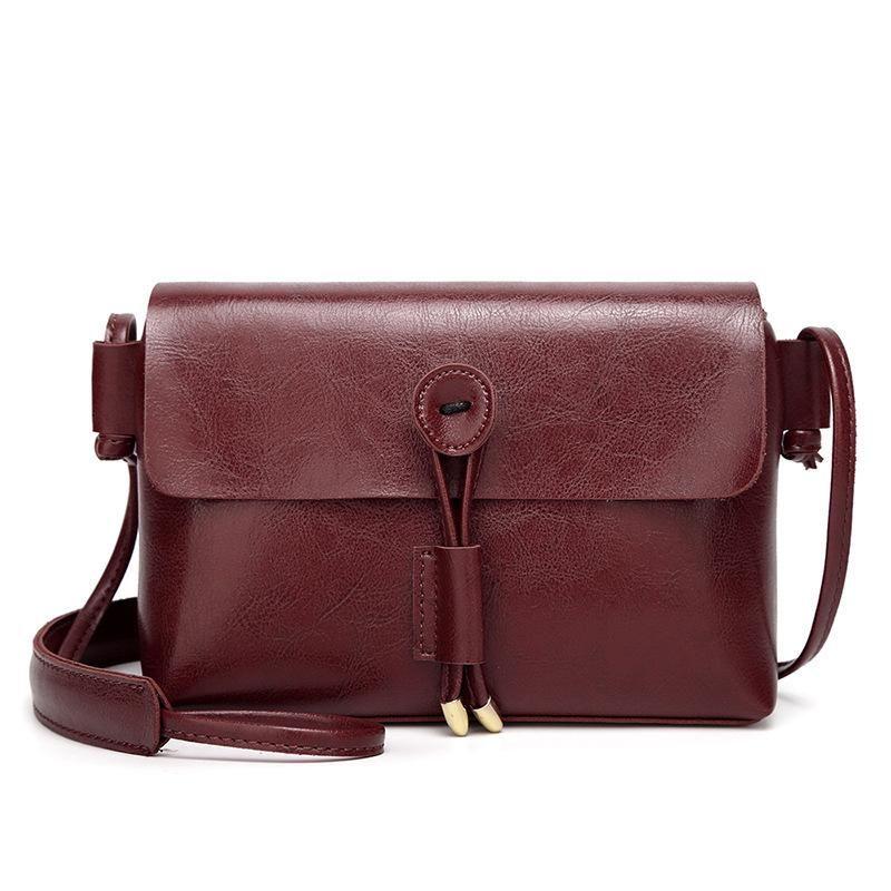 6a91bce62c4 Fashion Crossbody Bags For Women Flap Shoulder Bags Ladies Top Quality Pu  Leather Handbags Button Designer Evening Clutch Bag