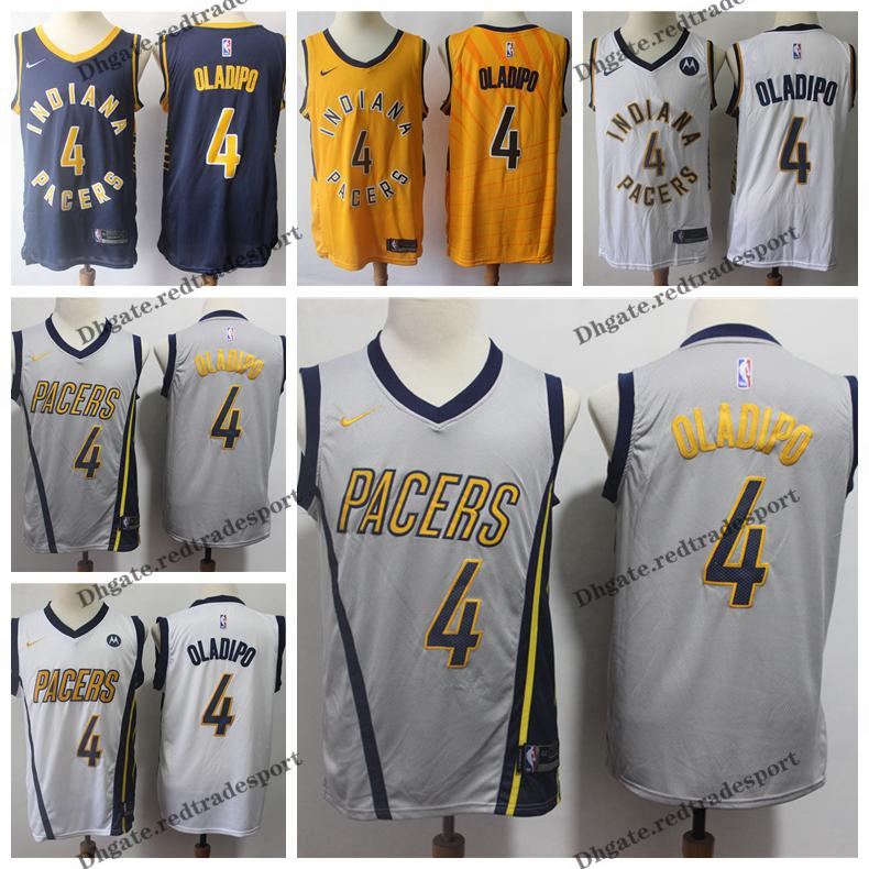 686a4f7f7db 2019 Earned  4 Edition Indiana Victor Oladipo Pacers Basketball Jerseys  Cheap City Victor Oladipo Edition Stitched Shirts S XXL UK 2019 From  Redtradesport