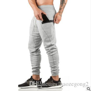 df00677769663 Newest Mens Sweatpants Man Gyms Fitness Bodybuilding Workout ...