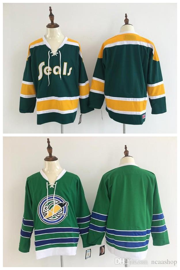 874e61029 NHL Oakland Seals Jersey Blank No Name Number California Golden Seals  Vintage Stitched Hockey Jerseys Football Jersey Chicago Blackhawks Jersey  Sidney ...