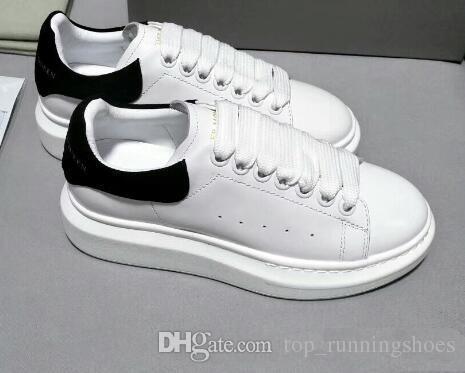 new style c5274 5e098 Compre Alexander McQueen Hombres Zapatos Casuales Baratos Mejor De Calidad  Superior Para Hombre Para Mujer De Moda Zapatillas De Deporte Zapatos Del  ...