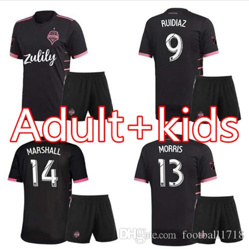 the best attitude a2f30 ce3fe adult/kids kit 2019 2020 Seattle Sounders FC Away Soccer Jersey kits 19 20  Home RUIDIAZ MORRIS DEMPSEY TORRES men Boys Football Shirt