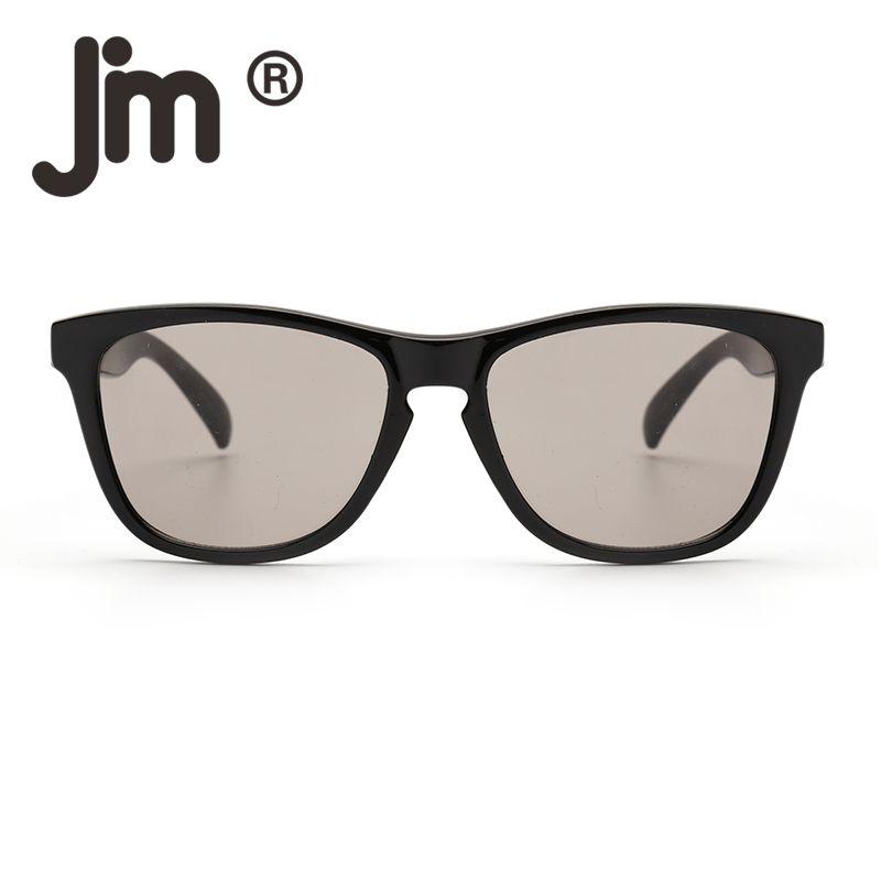 a601e5f97fd27 Compre JM Retro Original Quadrado 54mm Lente Cinza Óculos De Sol Das  Mulheres Dos Homens Designer De Marca UV400 Clássico Feminino Masculino Do  Vintage ...