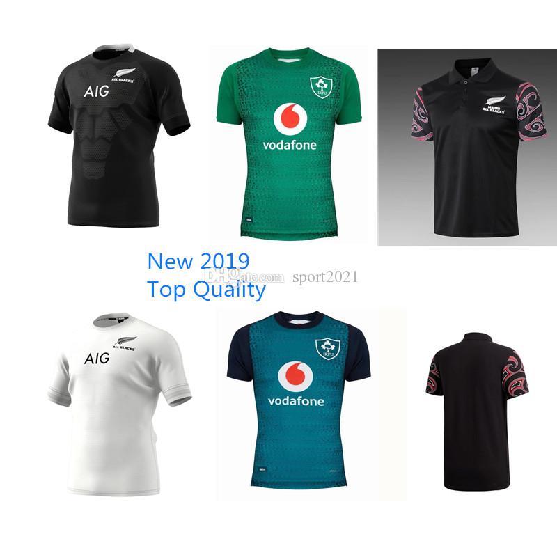 e85c5493cc53e New 2019 Top Quality All Blacks Ireland Nrl Maori All Blacks Home ...